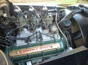 1950 Olds 303 cubic inch Rocket V8 Maintenance of old