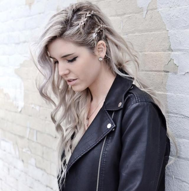 25 Best Ideas About Rock Hairstyles On Pinterest Faux Side