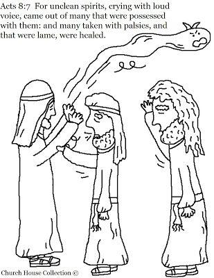 Mark 1:21-28; Luke 4:31-37: Jesus Drove Out Evil Spirits