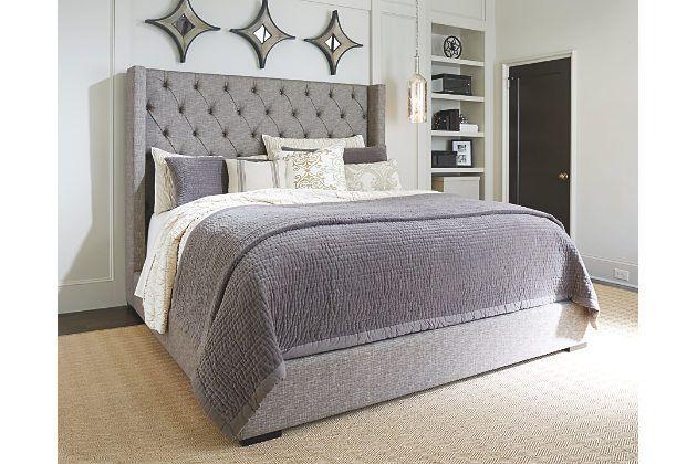 Master Bedroom Inspiration Gray Sorinella Queen