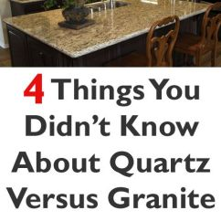Best Floors For Kitchens Long Island Kitchen Design 4 Things You Didn't Know About Quartz Vs Granite | ...