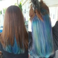 17 Best ideas about Peekaboo Hair Colors on Pinterest