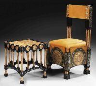 CARLO BUGATTI (1856-1940), SIDE CHAIR (only), circa 1900 ...