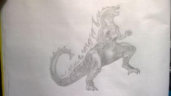 Godzilla Pencils Pinterest Godzilla