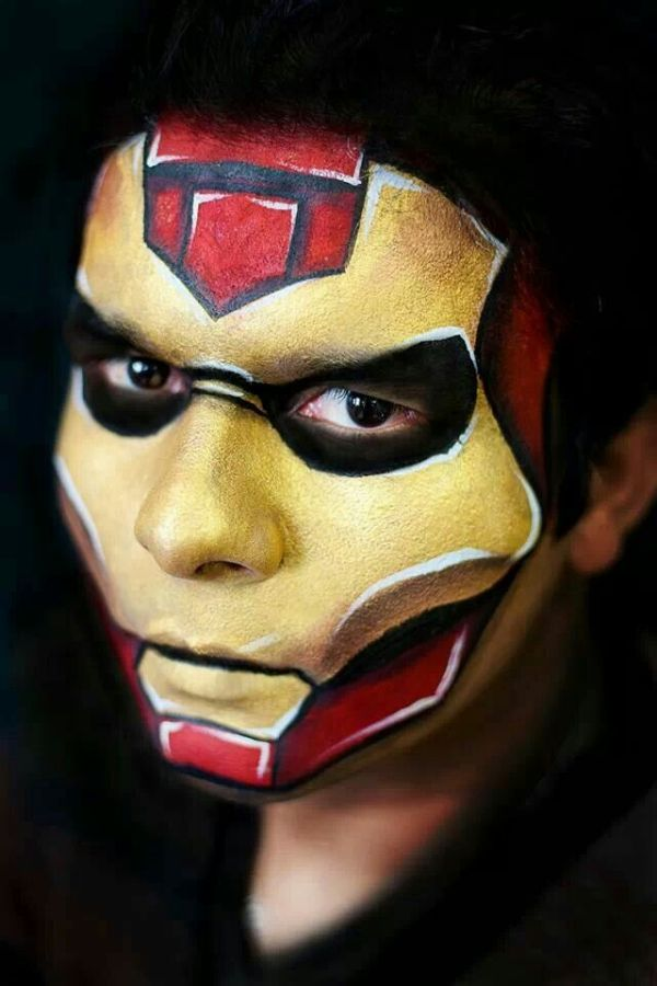 Best iron man out there Caritas pintadas Pinterest
