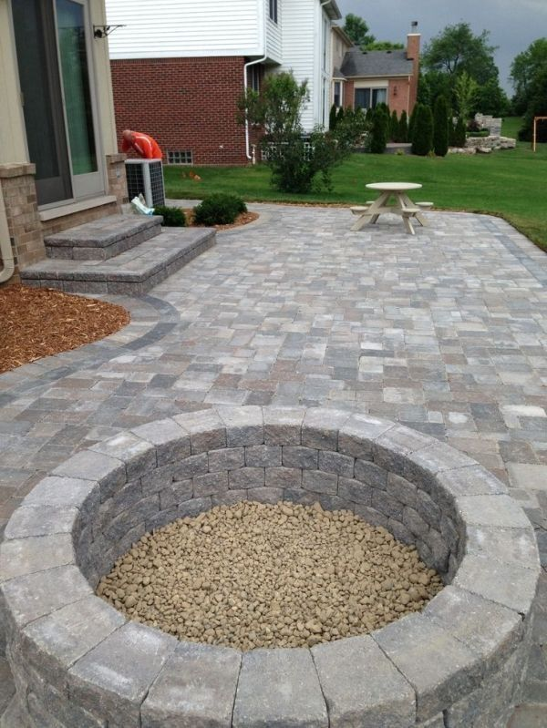 Best 25+ Stone patios ideas only on Pinterest