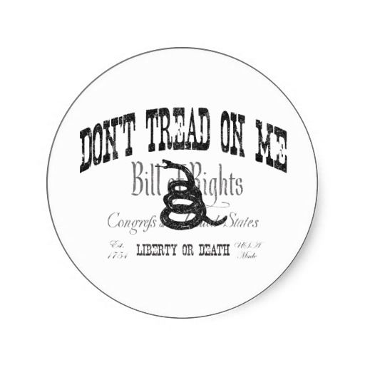 17 Best images about Dont Tread On Me Sticker on Pinterest
