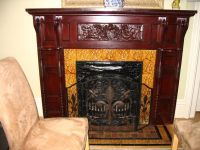 1000+ images about mantels / inserts/ tiles in old houses ...