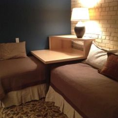 Sectional Sofa Beds For Small Spaces Best Condo Bed This Corner Table Converts Two Twin Into A Sleeping ...