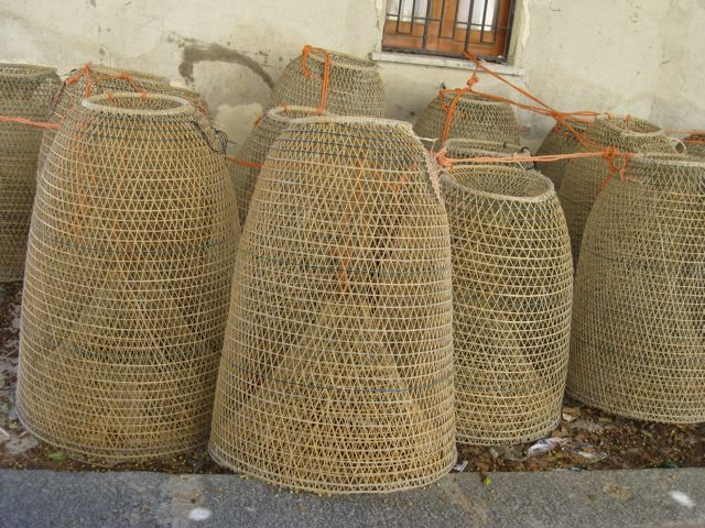 Fishing Basket To Lighting Woven Pinterest Outdoor