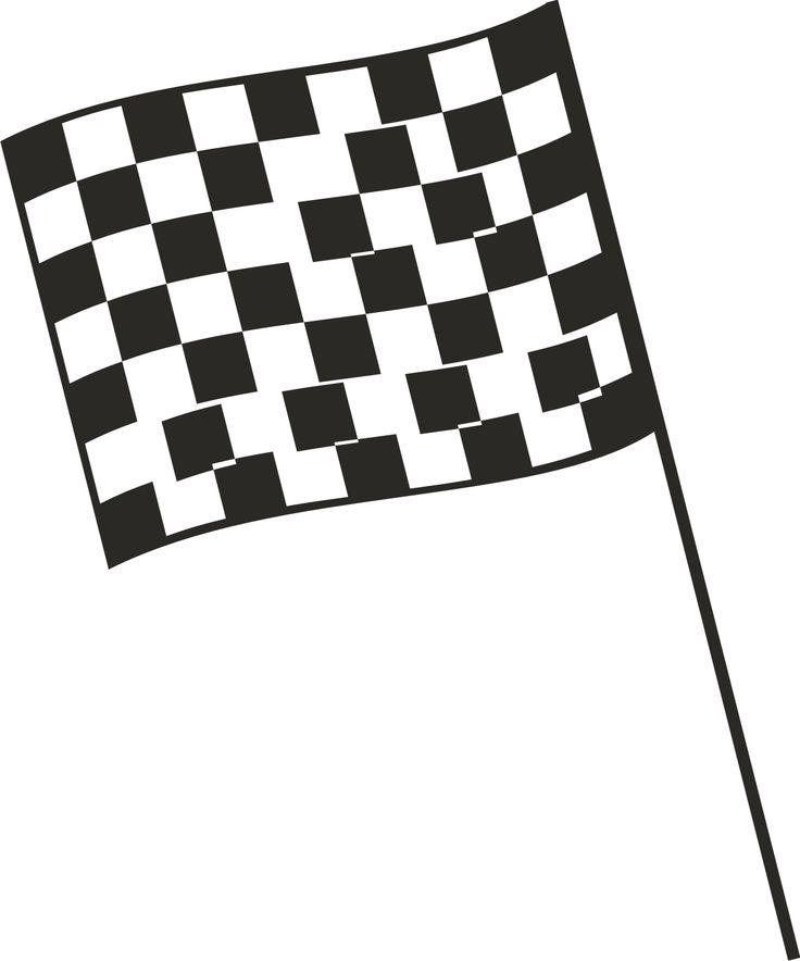 Checkered Flag ? ?nascar ?Borders Speech Language