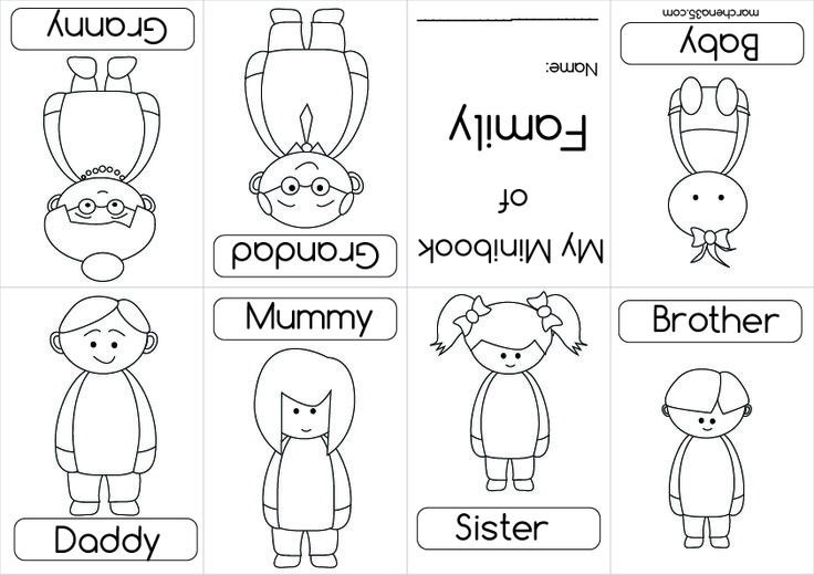 01 English Pinterest Coloring Books Families And Sketch