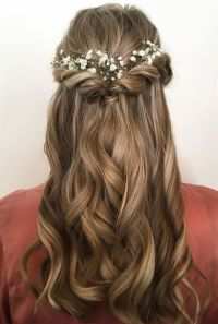 25+ best ideas about Half up half down on Pinterest | Prom ...