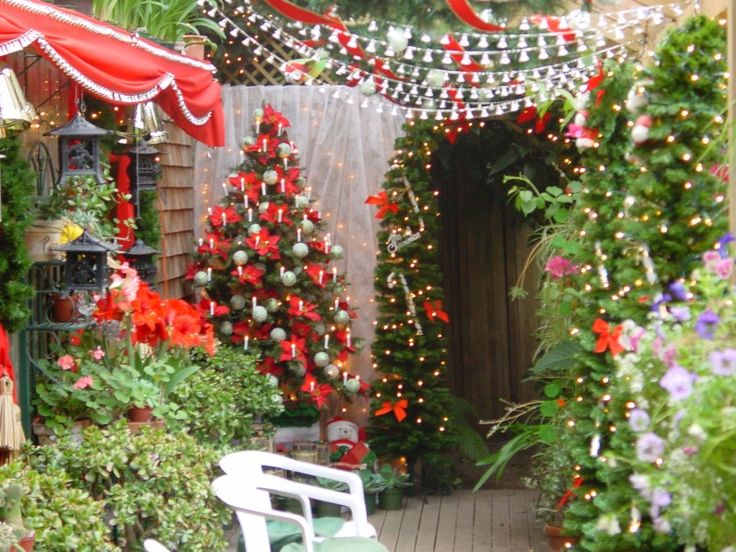 17 Best Images About Top Christmas Garden Ideas On Pinterest