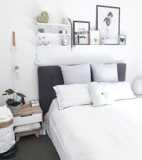 25+ best ideas about Bed shelves on Pinterest