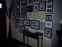 decorating ideas wall inserts in foyers