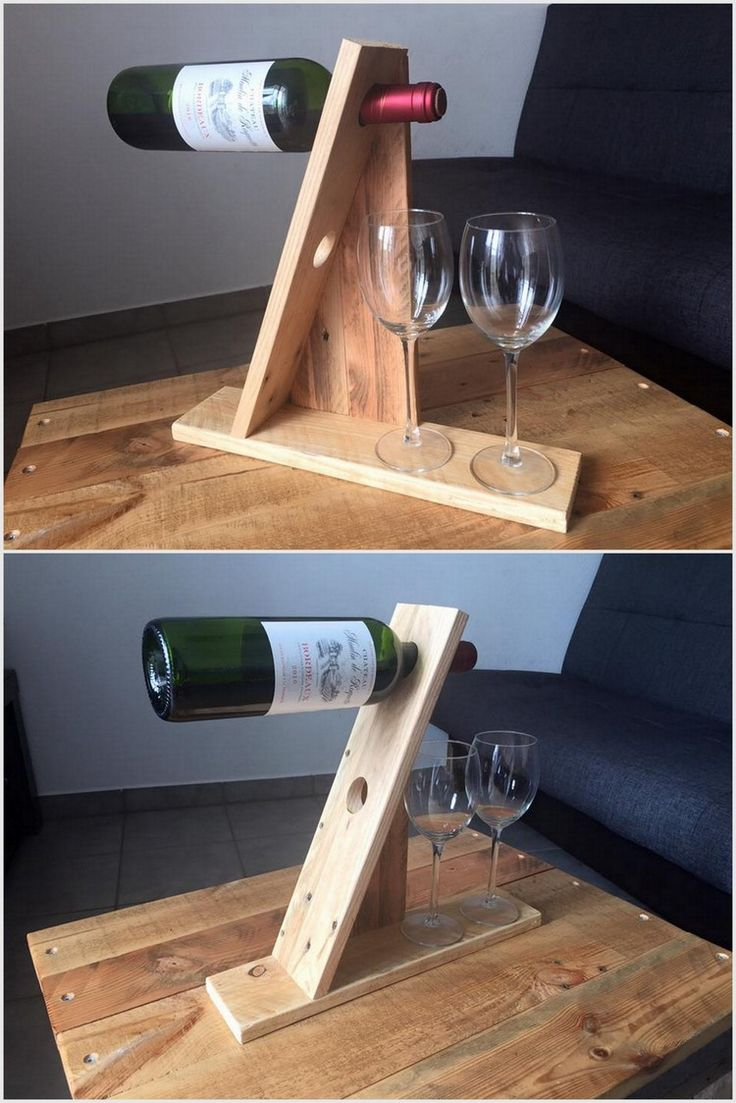 Only best 25+ ideas about Pallet Wine Holders on Pinterest