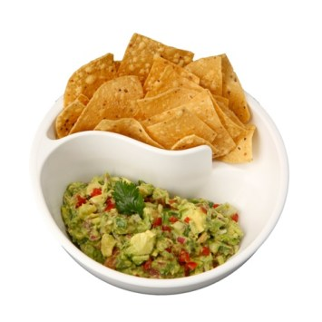 The ultimate way to eat chips and guac!: