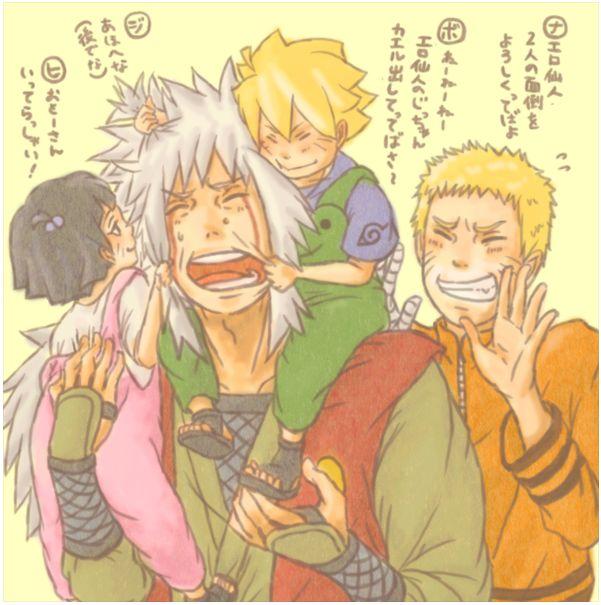 Cute Doodle Wallpaper For Iphone Naruto And Himawari