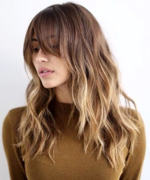25 Best Ideas About Long Brunette Hairstyles On Pinterest Fall