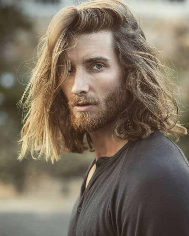 25 best ideas about Long  hair for men  on Pinterest Long