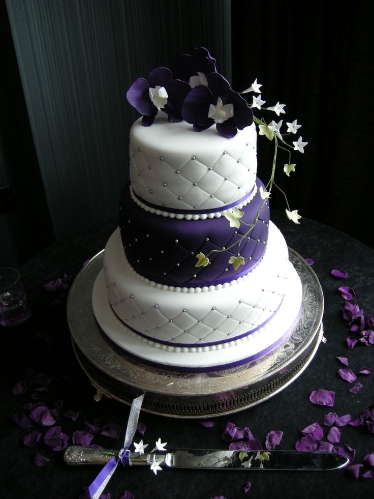 17 Best images about Purple and Silver Wedding Ideas on