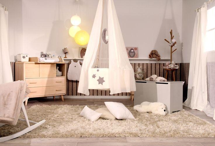 #chambre #bebe #cocooning @l'effet Charlotte #tevadeco  Bebe
