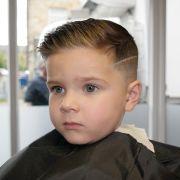 slick haircut with quiff hair