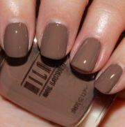 milani- teddy brown nail polish