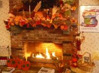 17 Best images about Thanksgiving/ Fall Fireplace Ideas on ...