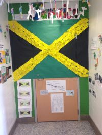 Jamaica classroom door decoration for black history month ...
