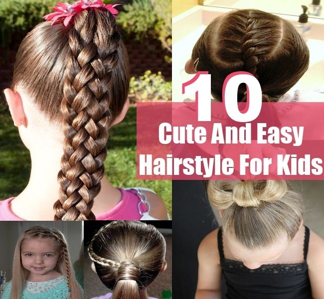 10 Best Ideas About Easy Kid Hairstyles On Pinterest Kid