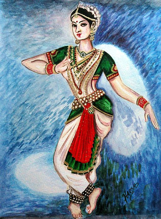 Mohiniyattam Hd Wallpaper The Spell Bounding Dance