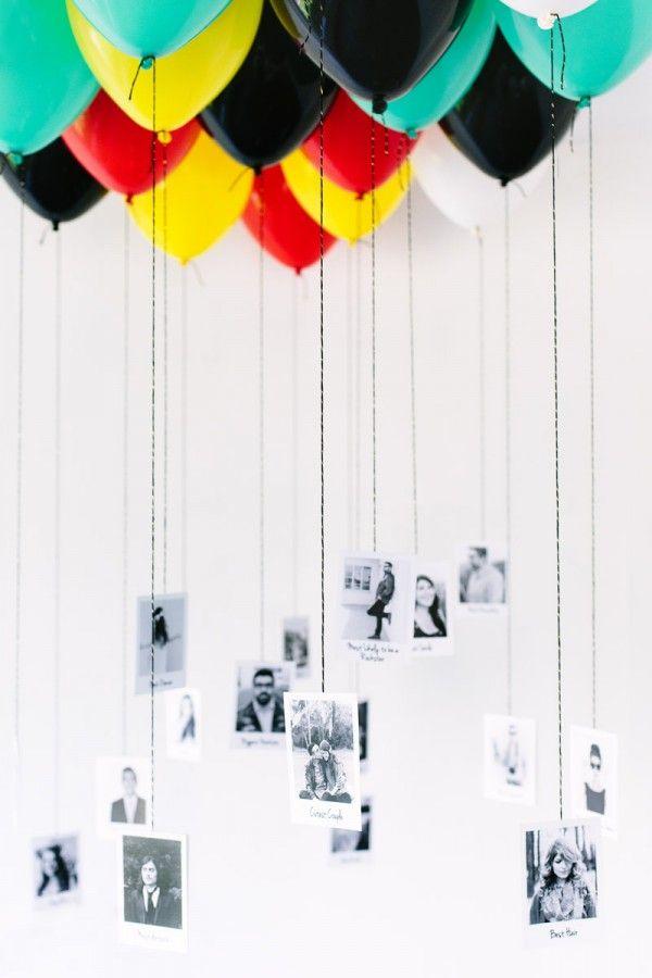 DIY Balloon photos so many ways to use these, graduations, reunions, birthday pa