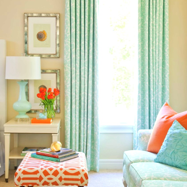 1000 images about Turquoise and coral bedroom ideas on Pinterest