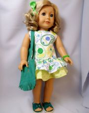 american girl doll clothes paisley