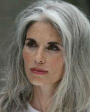 makeup silver grey