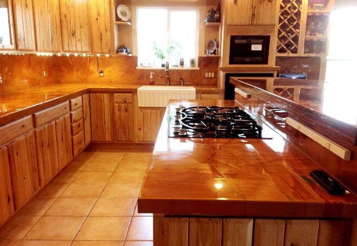 resurface kitchen cabinets sink baby bath tub diy epoxy countertop and flooring http://www ...