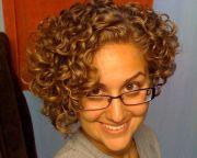 geeky curls styled in elegant