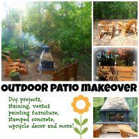 Outdoor garden patio and diy projects - Debbiedoo's ...