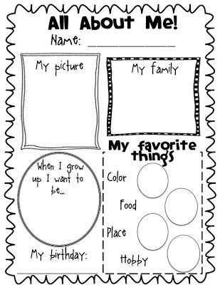 Best 25+ All about me poster ideas on Pinterest