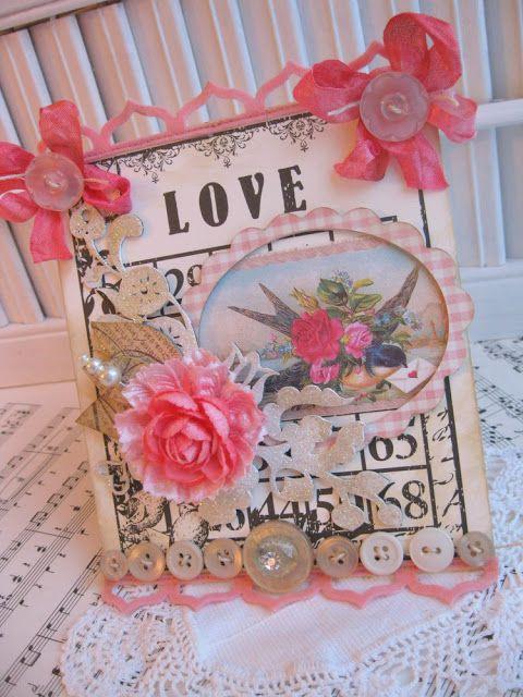 Bingo Valentine's Day card