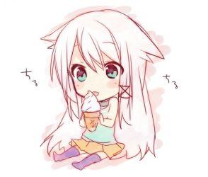 chibi cute kawaii anime drawing manga too neko chibis characters hair moe cream ice rpg animes drawings ignore visit desenhar