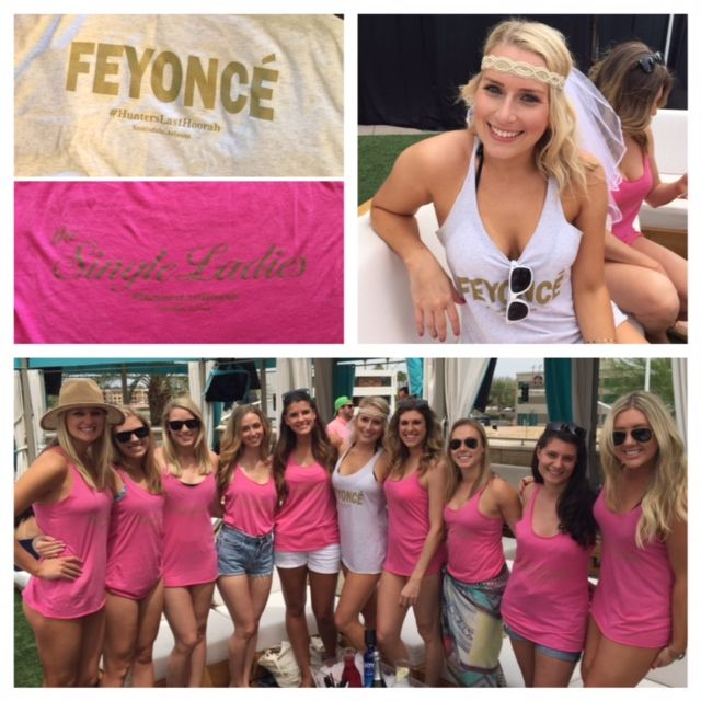 A Beyonce Themed Bachelorette Party in Scottsdale  Real