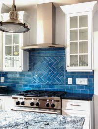 Ocean-Inspired Tile Backsplash | Calm, cool, and colorful ...