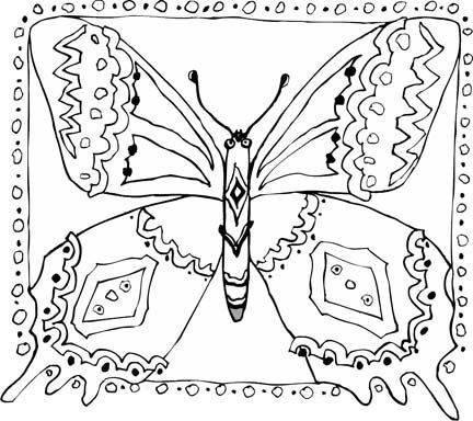 49 best Coloring pages Butterflies images on Pinterest