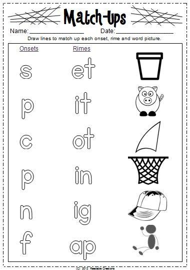All Worksheets » Blend Onset And Rime Worksheets
