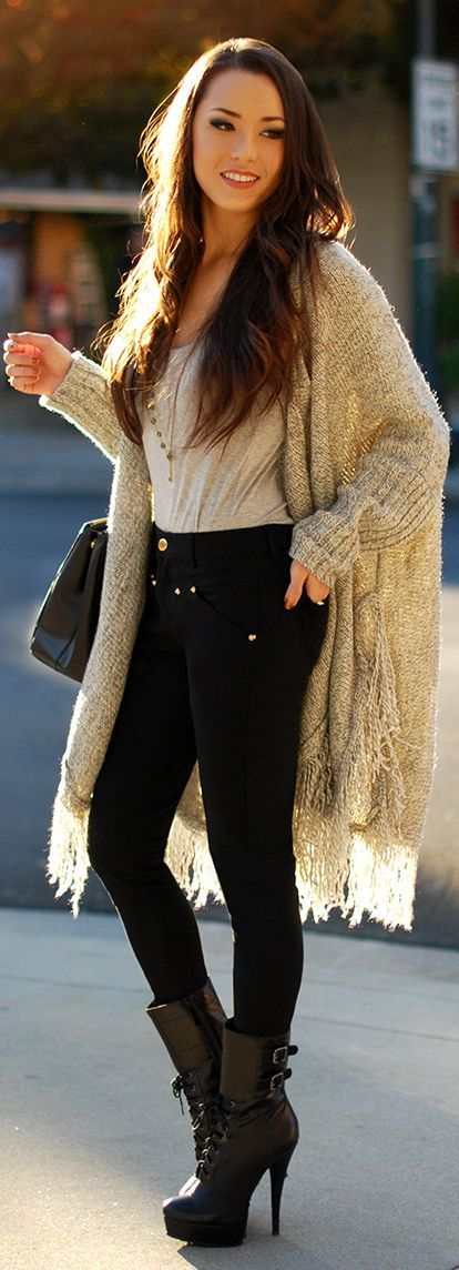 Cute outfit! Different boots though!: