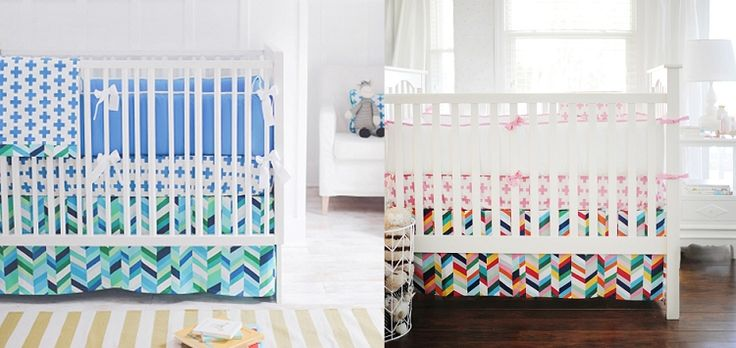 1000+ images about Boy/Girl Coordinated Nursery Bedding on