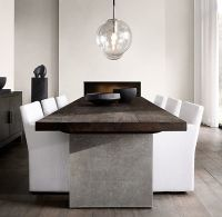 1000+ ideas about Concrete Dining Table on Pinterest ...